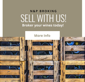 Sell with us! - Broker your wines today!