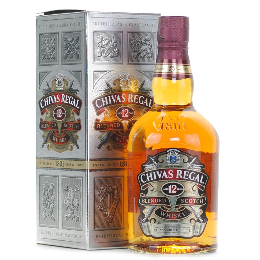 ad79d861e83 Home; Chivas Regal 12 Year Old 40% (Bottle - 1/70cl). Overview ...