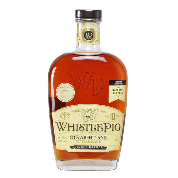 WhistlePig 10 Year Old Single Barrel (Barrel 2434) - Nickolls & Perks Exclusive